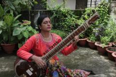 SMITA NAGDEV- SITAR & BERNARD FLAMENT- TABLA
